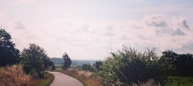 Dyngrakan: Den rikskända cykelbanan i Heberg